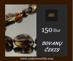 Dovanų čekis 150 Eur