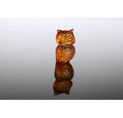 Gintarinė statulėlė Pelėda