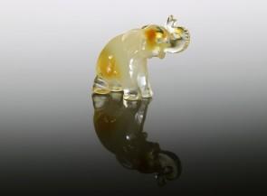 Amber figurine Elephant