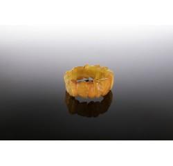 Natūralaus gintaro medaus atspalvio apyrankė