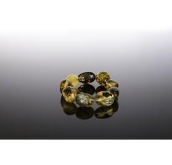 Natūralaus konjako gintaro apyrankė