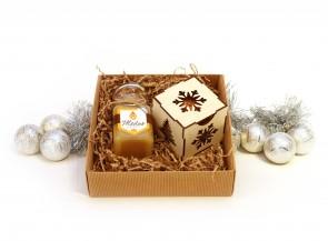 Lietuviškas medus su Kalėdiniu žaisliuku