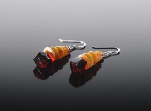 Natural amber butterscotch earrings