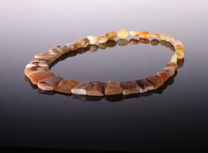 Natural amber collar Cleopatra