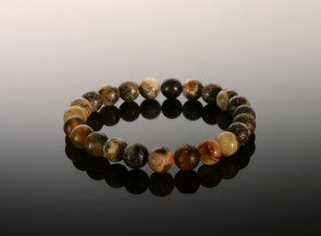 Natural amber yellow bracelet