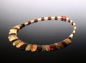 Natural amber butterscotch necklace Cleopatra
